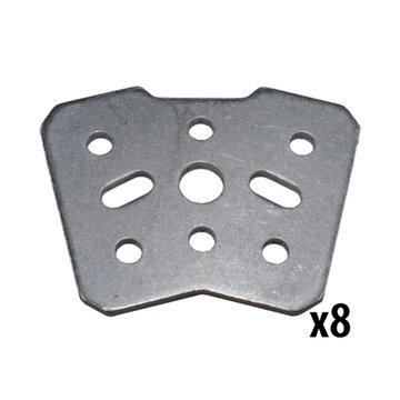 View larger image of REV, 15 mm 30 Degree Bracket, 8 Pack