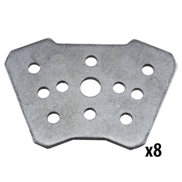 View larger image of REV, 15 mm 45 Degree Bracket, 8 Pack