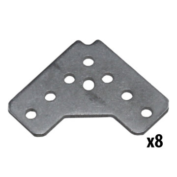 View larger image of REV, 15 mm 90 Degree Bracket, 8 Pack