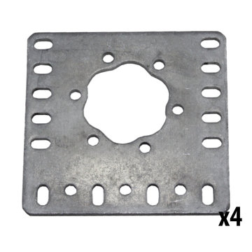 View larger image of REV 15 mm Flat Motor Mount Plate 4 Pack