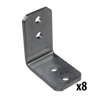 View larger image of REV, 15 mm Inside Corner Bracket, 8 Pack