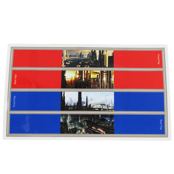 View larger image of SKYSTONE℠ Skybridge Support Sticker, Sheet of 4