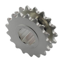 25 Series 17 Tooth 500 Hex Sprocket