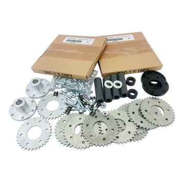 View larger image of Sprocket Kit, #25 Series, for 2013 FRC Replacement of Belts and Pulleys