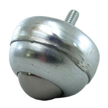 Stud-Mount Ball Caster, 1 in. Steel Ball