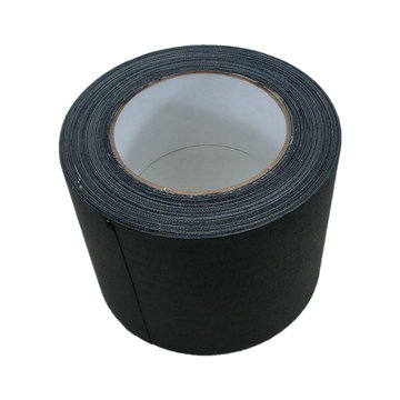View larger image of Tunnel Tape, 4 in. x 25 yds, Black